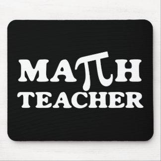 Profesor de matemáticas pi mousepad
