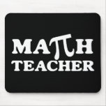 Profesor de matemáticas pi tapete de raton