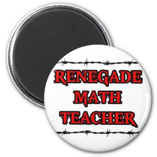 Profesor de matemáticas renegado imanes de nevera