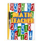 Profesor de matemáticas tableros blancos