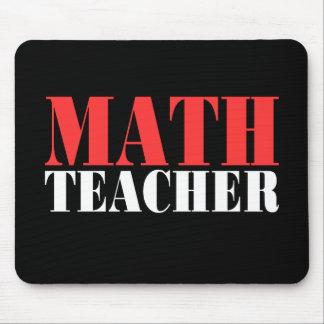 Profesor de matemáticas tapete de ratón