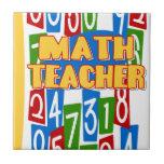 Profesor de matemáticas teja