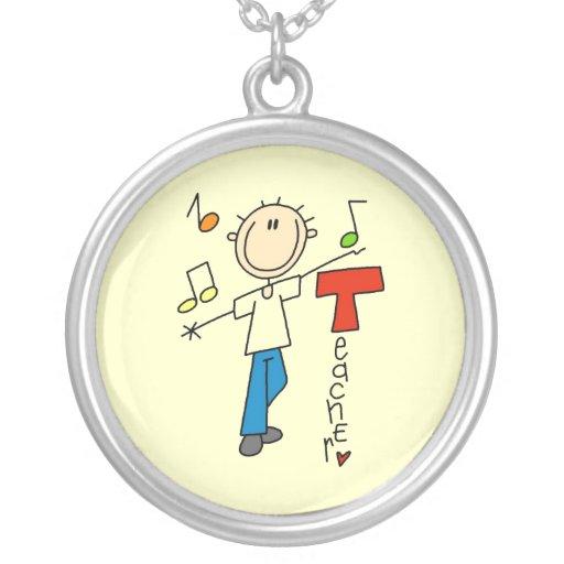 Profesor de música joyería