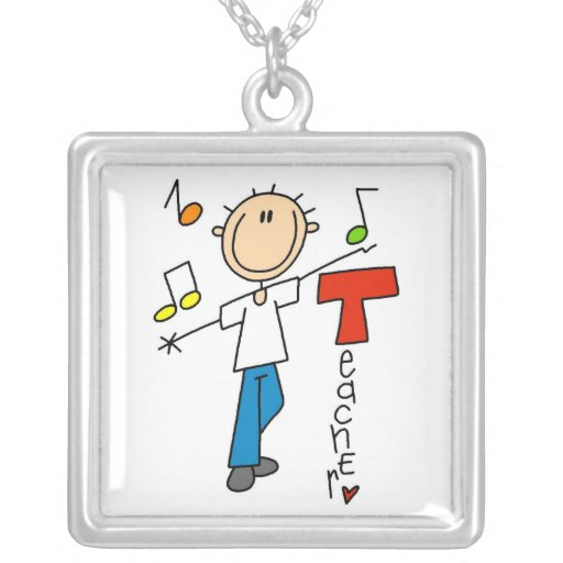 Profesor de música colgantes