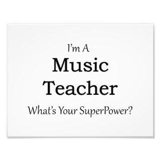 Profesor de música fotografías