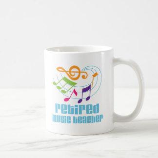 Profesor de música jubilado taza clásica