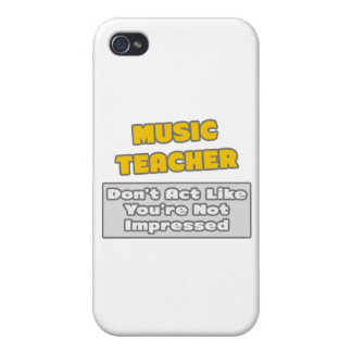 Profesor de música. Le impresionan iPhone 4 Cárcasas