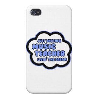 Profesor de música. Livin el sueño iPhone 4 Funda