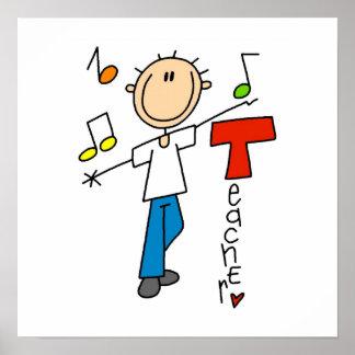 Profesor de música impresiones
