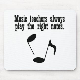 Profesor de música tapetes de ratón
