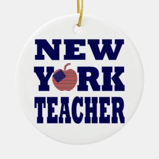 Profesor de Nueva York (Apple grande) Ornato