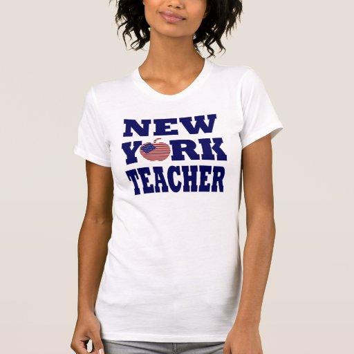 Profesor de Nueva York (Apple grande) Playeras