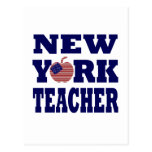 Profesor de Nueva York (Apple grande) Postal