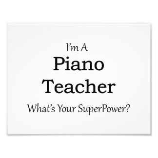 Profesor de piano cojinete