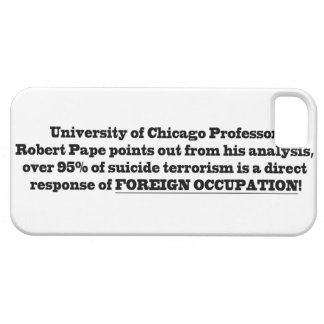 Profesor de Universidad de Chicago Roberto Pape iPhone 5 Funda