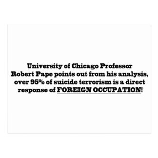 Profesor de Universidad de Chicago Roberto Pape Tarjetas Postales