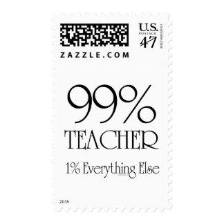 Profesor del 99% sello