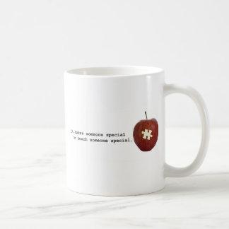 Profesor del autismo tazas de café