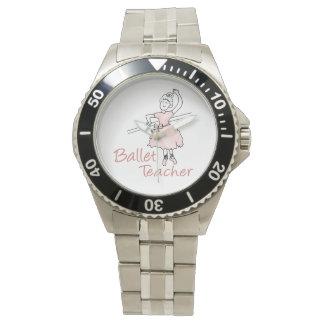 Profesor del ballet relojes de mano