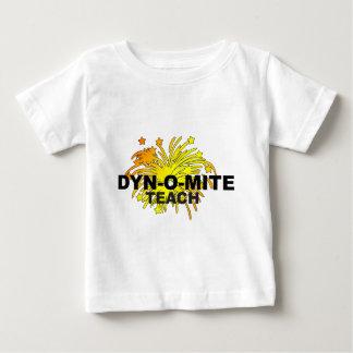 Profesor del Dyn-O-Ácaro Playera Para Bebé