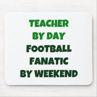 Profesor del fanático del fútbol del día por fin d alfombrilla de raton