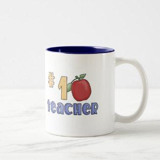 Profesor del número uno taza