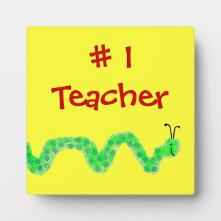 Profesor del ratón de biblioteca #1 placas