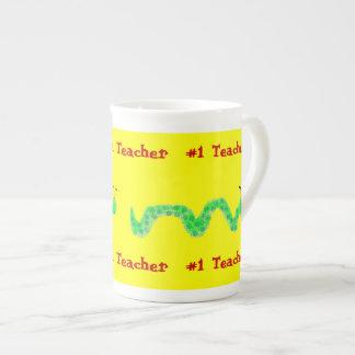 Profesor del ratón de biblioteca #1 taza de té