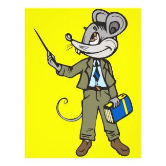 "Profesor del ratón folleto 8.5"" x 11"""