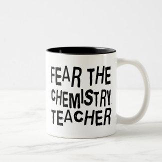 Profesor divertido de la química tazas de café