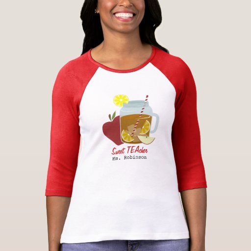 Profesor dulce camisetas