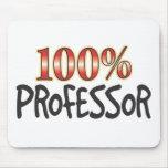 Profesor el 100 por ciento alfombrillas de ratones