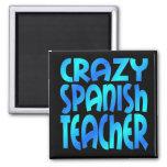 Profesor español loco iman de frigorífico
