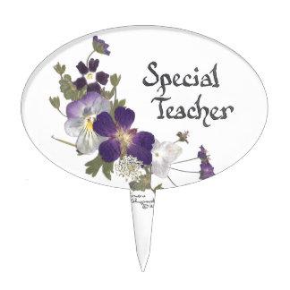Profesor especial decoraciones para tartas