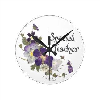Profesor especial relojes de pared
