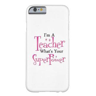 Profesor estupendo funda de iPhone 6 barely there