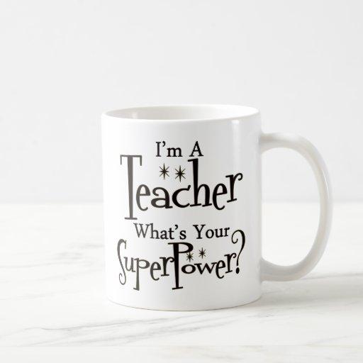 Profesor estupendo taza de café
