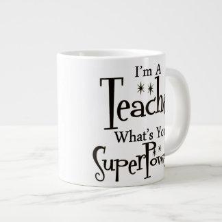 Profesor estupendo tazas extra grande