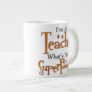Profesor estupendo tazas jumbo
