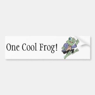 Profesor Frog Pegatina Para Auto