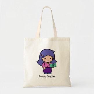 Profesor futuro - chica bolsas