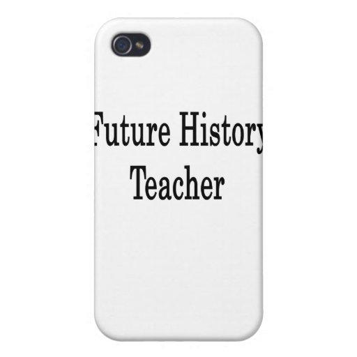 Profesor futuro de la historia iPhone 4 fundas