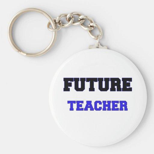 Profesor futuro llaveros personalizados