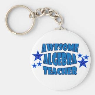 Profesor impresionante de la álgebra llaveros
