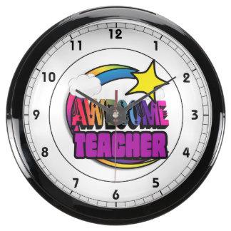 Profesor impresionante del arco iris de la relojes acuario