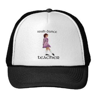 Profesor irlandés de la danza del paso - rosa gorros