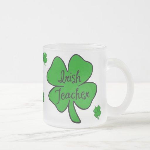 Profesor irlandés taza cristal mate