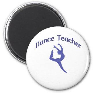 Profesor Jete de la danza Imán Redondo 5 Cm