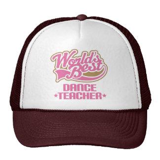 Profesor lindo de la danza gorra