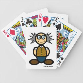 Profesor (llano) baraja de cartas